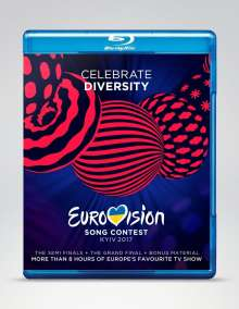 Eurovision Song Contest Kiew 2017, 3 Blu-ray Discs