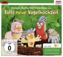 Rolf Zuckowski: Rolfs neue Vogelhochzeit, 1 CD und 1 DVD