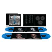 Rammstein: Rammstein: Paris (180g) (Box-Set) (Blue Vinyl), 4 LPs, 2 CDs und 1 Blu-ray Disc