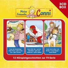 Meine Freundin Conni-3-CD Hörspielbox Vol.2, 3 CDs