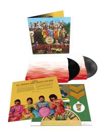 The Beatles: Sgt. Pepper's Lonely Hearts Club Band (180g) (50th-Anniversary-Deluxe-Edition), 2 LPs