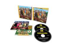 The Beatles: Sgt. Pepper's Lonely Hearts Club Band (50th-Anniversary-Edition), 2 CDs