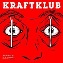 Kraftklub: Keine Nacht für Niemand (180g) (Limited-Edition-Box-Set) (Red Vinyl), 2 LPs und 1 CD