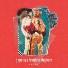 Halsey: Hopeless Fountain Kingdom (Clear & Teal Colored Vinyl), LP