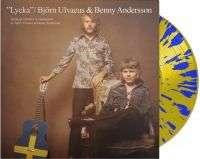 Benny Andersson & Björn Ulvaeus: Lycka (180g) (Limited Edition) (Blue/Yellow Vinyl), LP