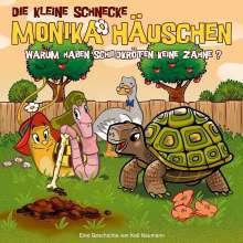 Die kleine Schnecke Monika Häuschen 47: Warum haben Schildkröten keine Zähne?, CD