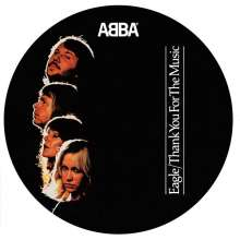 """Abba: Eagle/ Thank You For The Music (Limited-Edition) (Picture Disc), Single 7"""""""
