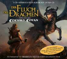 Corvus Corax: Der Fluch des Drachen (Fantastical), 3 CDs