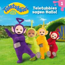 Teletubbies 01: Teletubbies sagen Hallo!, CD