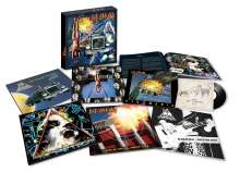 Def Leppard: The Vinyl Box Set: Volume One (remastered) (180g) (Limited-Edition), 8 LPs