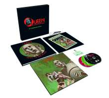 Queen: News Of The World (40th Anniversary) (Limited Edition) (Super Deluxe Box Set), 1 LP, 3 CDs und 1 DVD