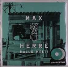 Max Herre: Hallo Welt! (Limited Edition) (Mintgrün & Weiß), 2 LPs