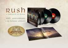 Rush: A Farewell To Kings (40th Anniversary) (180g) (Deluxe-Edition), 4 LPs