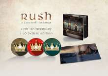 Rush: A Farewell To Kings (40th Anniversary) (Deluxe-Editon), 3 CDs