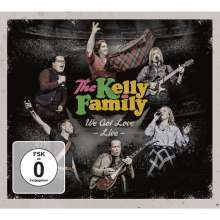The Kelly Family: We Got Love: Live, 4 CDs