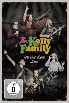 The Kelly Family: We Got Love: Live, 2 DVDs