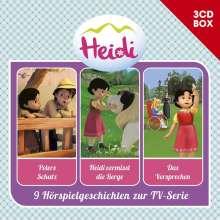 Heidi - 3-CD Hörspielbox Vol. 2 (CGI), 3 CDs