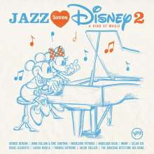 Jazz Loves Disney 2: A Kind Of Magic, CD