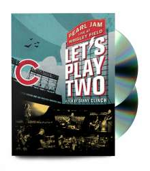 Pearl Jam: Let's Play Two: Live At Wrigley Field 2016, 1 CD und 1 DVD
