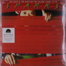 Sparks: The Best & The Rest Of The Island Years 74-78 (remastered) (180g) (Red Vinyl), 2 LPs