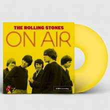 The Rolling Stones: On Air (Limited-Edition) (Yellow Vinyl) (exklusiv für jpc), 2 LPs