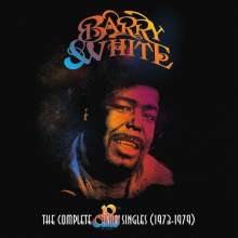 """Barry White: The 20th Century Singles (1973-1975) (Limited-Edition), 10 Single 7""""s"""