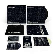 """Tocotronic: Die Unendlichkeit (180g) (Limited-Fan-Box-Set incl. T-Shirt Gr.L und glow-in-the-Dark-7""""), 2 LPs"""