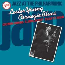 Lester Young (1909-1959): Carnegie Blues - Jazz At The Philharmonic (180g) (Limited-Edition), LP