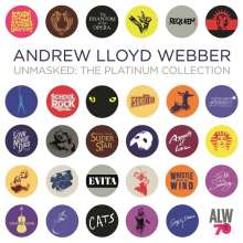 Andrew Lloyd Webber (geb. 1948): Musical: Unmasked: The Platinum Collection (Limited-Edition), 5 LPs