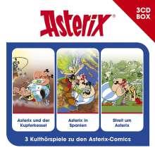 Asterix-3-CD Hörspielbox Vol.5, 3 CDs