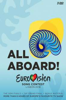 Eurovision Song Contest - Lisbon 2018, 3 DVDs