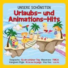 Unsere schönsten Urlaubs- und Animations-Hits, CD