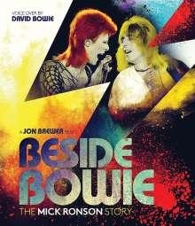 Mick Ronson: Beside Bowie: The Mick Ronson Story, Blu-ray Disc
