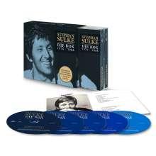 Stephan Sulke: Die Box 1976 - 1986, 5 CDs