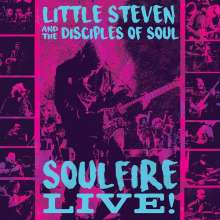 Little Steven (Steven Van Zandt): Soulfire Live!, 3 CDs