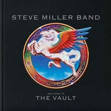 Steve Miller Band (Steve Miller Blues Band): Welcome To The Vault (Limited Box Set), 3 CDs, 1 DVD, 1 Buch und 1 Merchandise