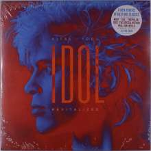 Billy Idol: Vital Idol: Revitalized (180g) (Limited Edition) (Blue Marbled Vinyl), 2 LPs
