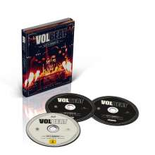 Volbeat: Let's Boogie! Live From Telia Parken, 2 CDs und 1 Blu-ray Disc
