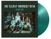 The Allman Brothers Band: Collected (180g) (Limited-Numbered-Edition) (Translucent Green Vinyl), 2 LPs