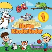 Hurra Kinderlieder 1, CD