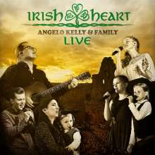 Angelo Kelly & Family: Irish Heart: Live, 1 CD und 1 DVD