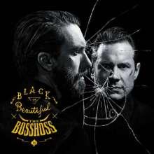 BossHoss: Black Is Beautiful (Super-Deluxe-Fanbox), 1 CD, 1 DVD und 2 Merchandise