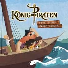 König der Piraten: Sieben Meere - Sieben Schätze, 2 CDs