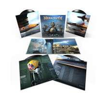 Megadeth: Warheads On Foreheads (180g), 4 LPs