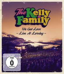 The Kelly Family: We Got Love - Live At Loreley, Blu-ray Disc