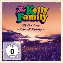 The Kelly Family: We Got Love - Live At Loreley (Deluxe-Edition), 2 CDs und 2 DVDs