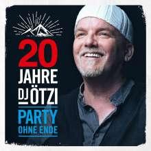 DJ Ötzi: 20 Jahre DJ Ötzi: Party ohne Ende, 2 CDs