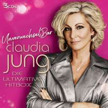 Claudia Jung: Unverwechselbar: Die ultimative Hitbox, 3 CDs