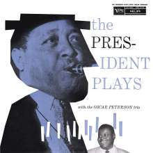 Lester Young & Oscar Peterson: The President Plays With The Oscar Peterson Trio (180g), LP