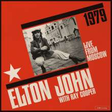 Elton John & Ray Cooper: Live From Moscow, 2 LPs